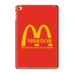 mordor one does not simply eat in mordor iPad Mini 4 Case | Artistshot