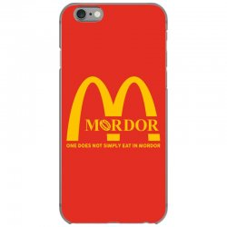 mordor one does not simply eat in mordor iPhone 6/6s Case | Artistshot
