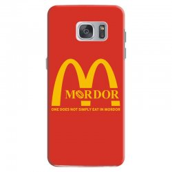 mordor one does not simply eat in mordor Samsung Galaxy S7 Case | Artistshot