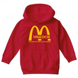 mordor one does not simply eat in mordor Youth Hoodie | Artistshot