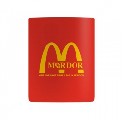 mordor one does not simply eat in mordor Mug | Artistshot