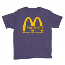 mordor one does not simply eat in mordor Youth Tee | Artistshot