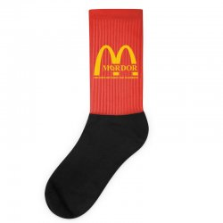 mordor one does not simply eat in mordor Socks | Artistshot
