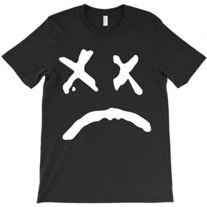 Sad Face Lil Peep T-shirt Designed By Toweroflandrose
