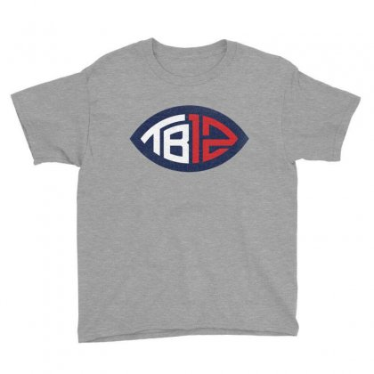 Tb12 Tom Brady Retro Youth Tee Designed By Toweroflandrose