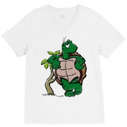 amphibian animal cartoon reptile V-Neck Tee | Artistshot