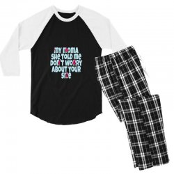 Mom Men's 3/4 Sleeve Pajama Set | Artistshot