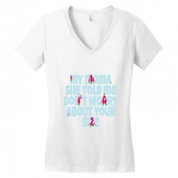 Mom Women's V-Neck T-Shirt | Artistshot