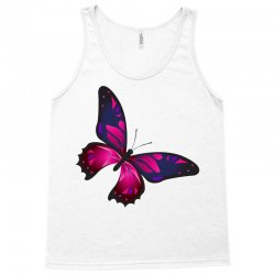 butterfly colorful pink blue Tank Top | Artistshot