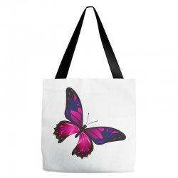 butterfly colorful pink blue Tote Bags | Artistshot