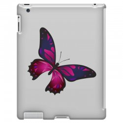 butterfly colorful pink blue iPad 3 and 4 Case | Artistshot