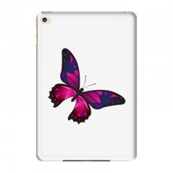 butterfly colorful pink blue iPad Mini 4 Case | Artistshot