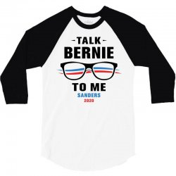 talk bernie to me 2020 3/4 Sleeve Shirt | Artistshot