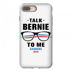 talk bernie to me 2020 iPhone 8 Plus Case | Artistshot