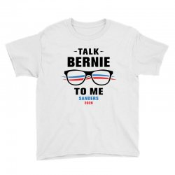 talk bernie to me 2020 Youth Tee | Artistshot