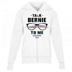 talk bernie to me 2020 Youth Zipper Hoodie | Artistshot