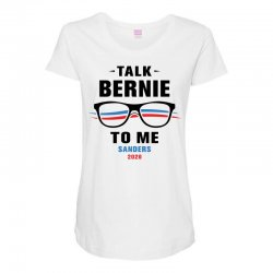 talk bernie to me 2020 Maternity Scoop Neck T-shirt | Artistshot