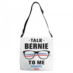 talk bernie to me 2020 Adjustable Strap Totes | Artistshot
