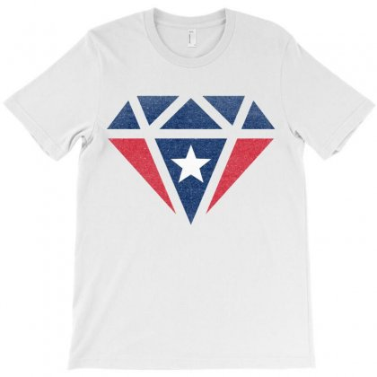 New England Patriots Retro Diamond T-shirt Designed By Toweroflandrose