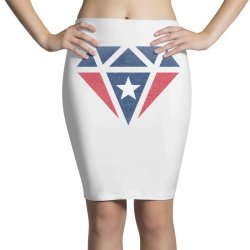 new england patriots retro diamond Pencil Skirts | Artistshot