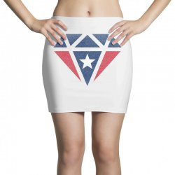 new england patriots retro diamond Mini Skirts | Artistshot
