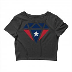 new england patriots retro diamond Crop Top | Artistshot