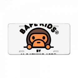 bape kids by a bathing ape License Plate | Artistshot