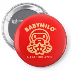 baby milo Pin-back button | Artistshot