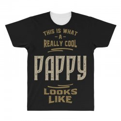 Really Cool Pappy All Over Men's T-shirt   Artistshot