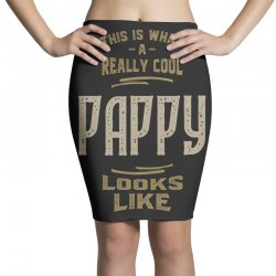 Really Cool Pappy Pencil Skirts   Artistshot