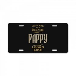 Really Cool Pappy License Plate | Artistshot