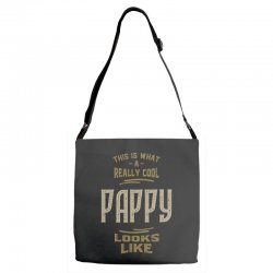 Really Cool Pappy Adjustable Strap Totes   Artistshot