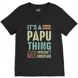 It's a Papu Thing V-Neck Tee | Artistshot