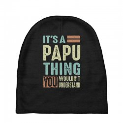 It's a Papu Thing Baby Beanies | Artistshot