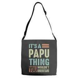 It's a Papu Thing Adjustable Strap Totes | Artistshot