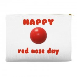 Red nose Accessory Pouches | Artistshot