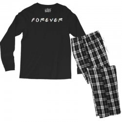 forever of the friends parody Men's Long Sleeve Pajama Set | Artistshot
