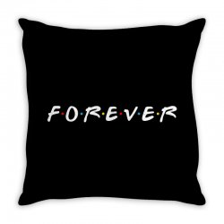 forever of the friends parody Throw Pillow | Artistshot
