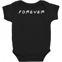 forever of the friends parody Baby Bodysuit | Artistshot