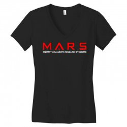 mars military armaments research syndicate Women's V-Neck T-Shirt | Artistshot