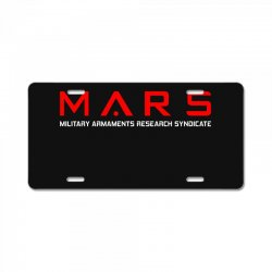 mars military armaments research syndicate License Plate | Artistshot