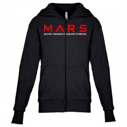 mars military armaments research syndicate Youth Zipper Hoodie | Artistshot