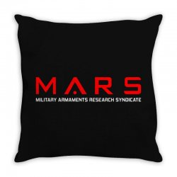 mars military armaments research syndicate Throw Pillow | Artistshot