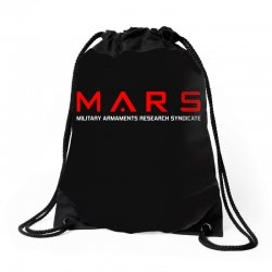 mars military armaments research syndicate Drawstring Bags | Artistshot