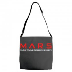 mars military armaments research syndicate Adjustable Strap Totes | Artistshot