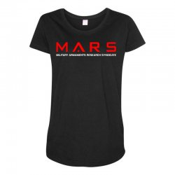 mars military armaments research syndicate Maternity Scoop Neck T-shirt | Artistshot