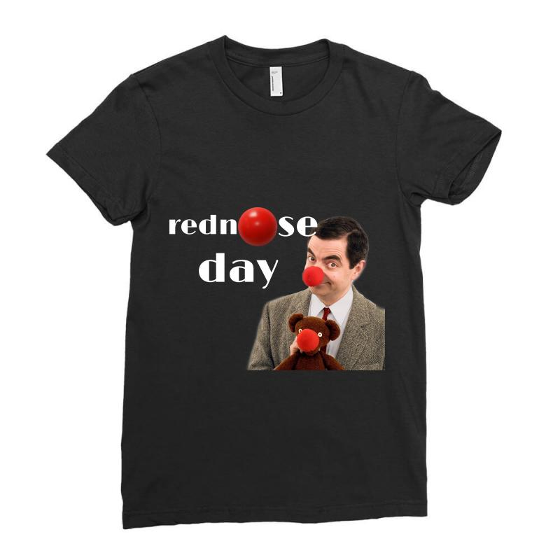 Rednose Ladies Fitted T-shirt | Artistshot