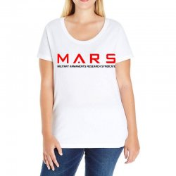 mars military armaments research syndicate Ladies Curvy T-Shirt | Artistshot