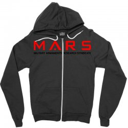 mars military armaments research syndicate Zipper Hoodie | Artistshot