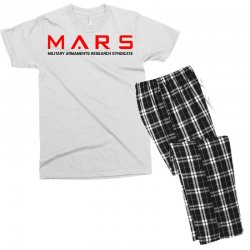 mars military armaments research syndicate Men's T-shirt Pajama Set | Artistshot